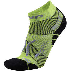 UYN Run Marathon Zero Socks Men Green Lime/Black